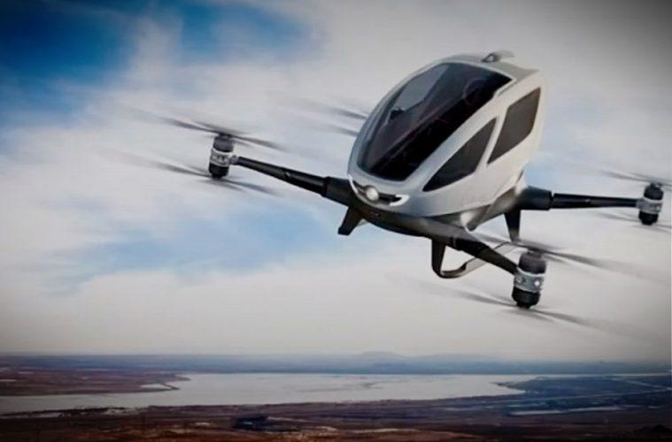 Hallazgos - Dron Taxi en Dubái
