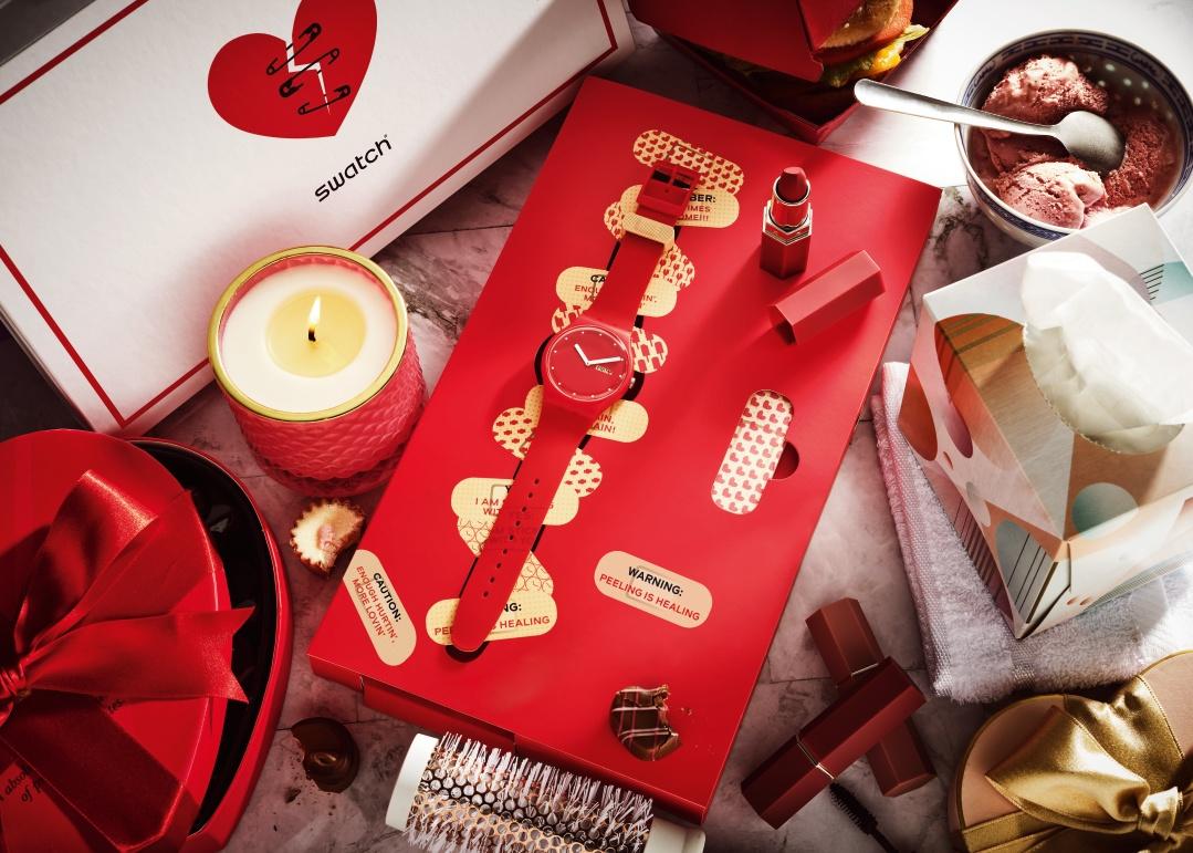 Swatch y un homenaje a los solteros en San Valentín
