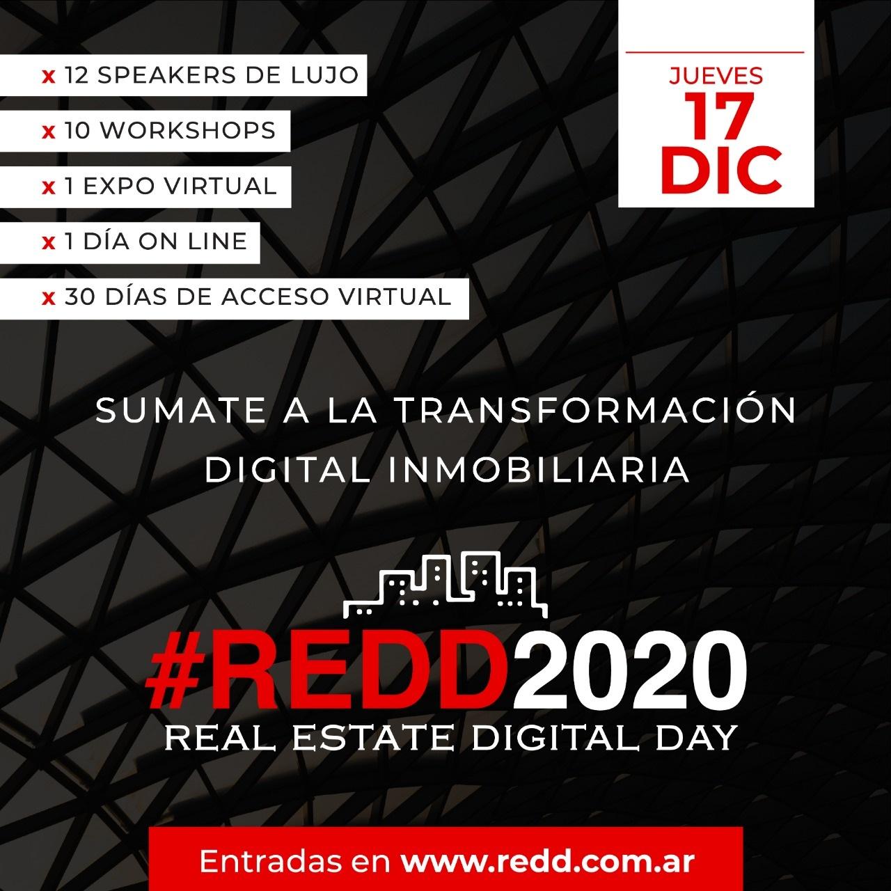 Redd 2020: llega Real Estate Digital Day