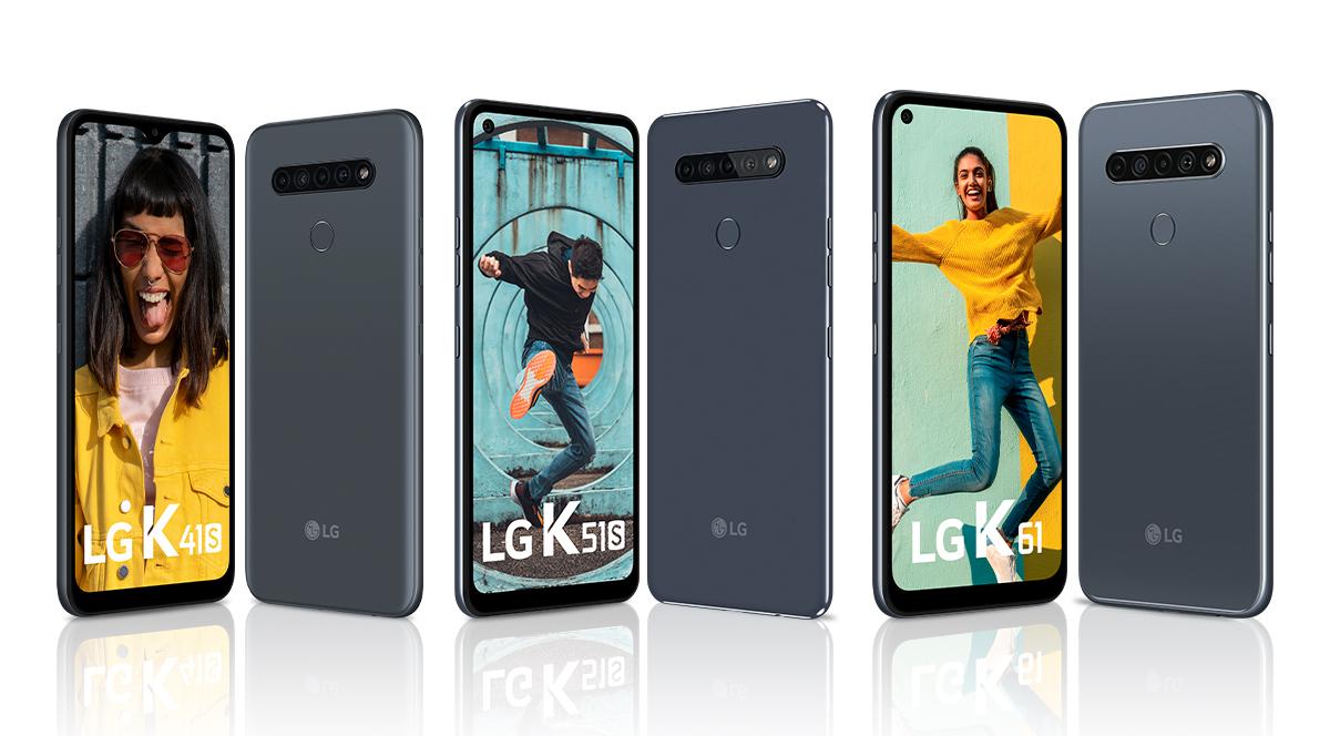 LG actualizó su Serie K de gama media